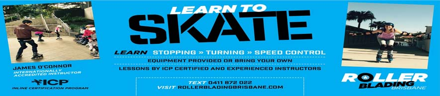 Rollerblading Brisbane - Learn to rollerblade / inline skate in Brisbane, Australia. We provide rollerblades for hire, lessons, tours and more